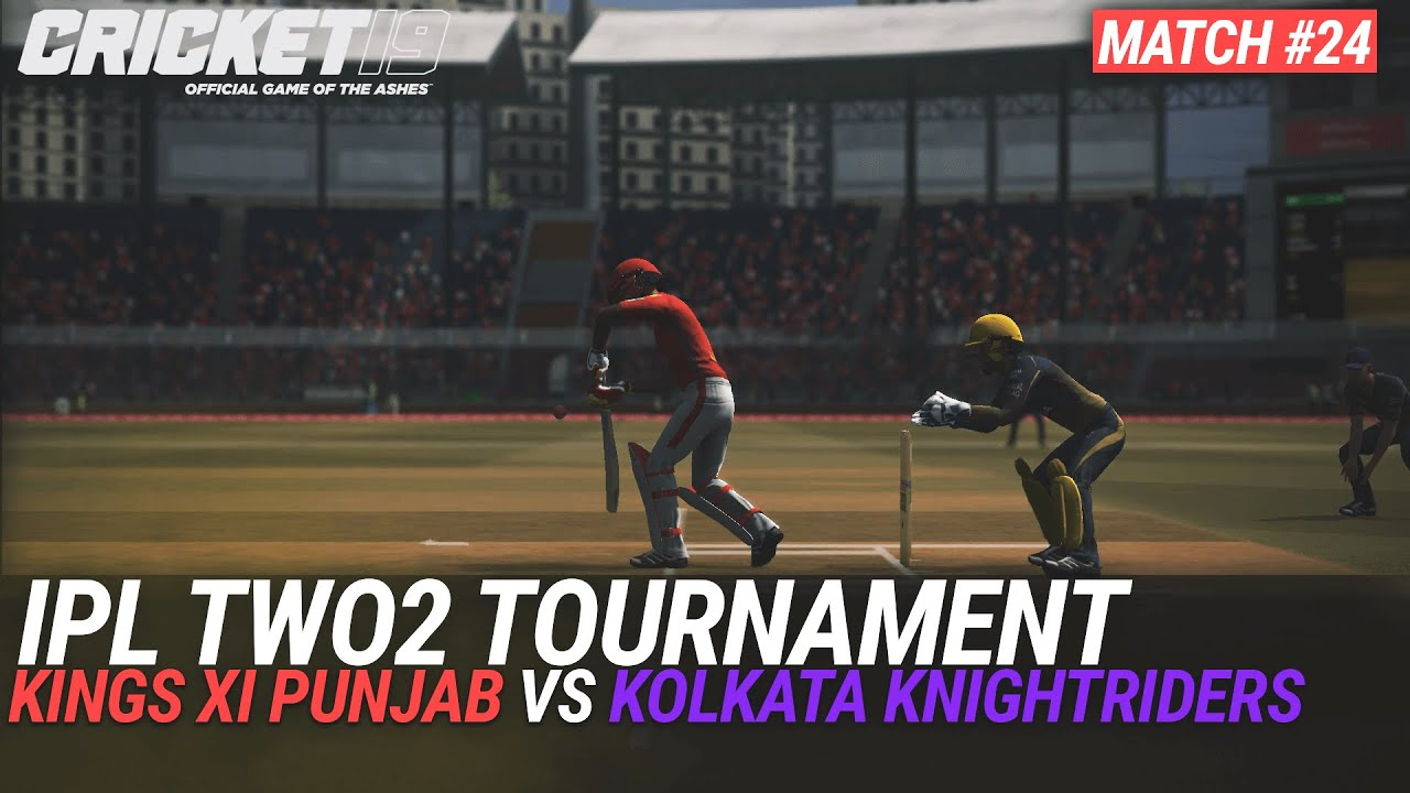 CRICKET 19 - IPL2020 TWO2 - MATCH #24 - KINGS XI PUNJAB vs KOLKATA KNIGHTRIDERS