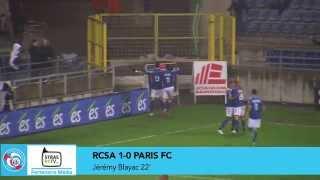 RCSA - Paris FC (2-1) : résumé l RC Strasbourg Alsace
