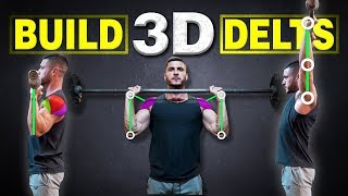 The Perfect Overhead Press Technique for ROUNDER Shoulders