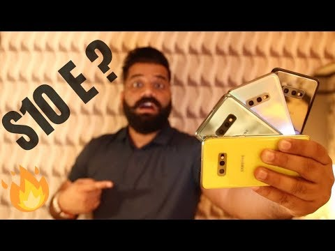 Samsung Galaxy S10E First Look & Feature Overview - Impressive 🔥🔥🔥