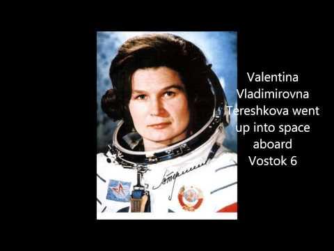 Valentina Vladimirovna Tereshkova