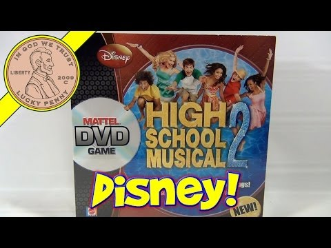 Disney High School Musical 2 DVD Game, 2007 Mattel Toys