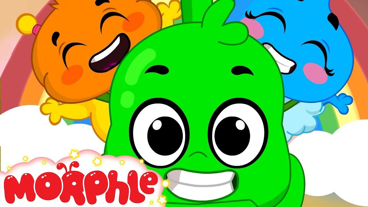 Orphle's Train Track Mayhem! - My Magic Pet Morphle | Kids Cartoons & Nursery Rhymes | Moonbug Kids
