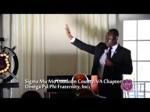 Sigma Mu Mu 2013 Achievement Week - Keynote Bro. Crump