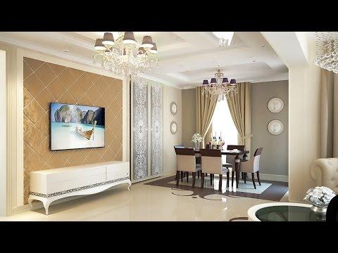 Дизайн интерьера дома площадью 100 кв.м.