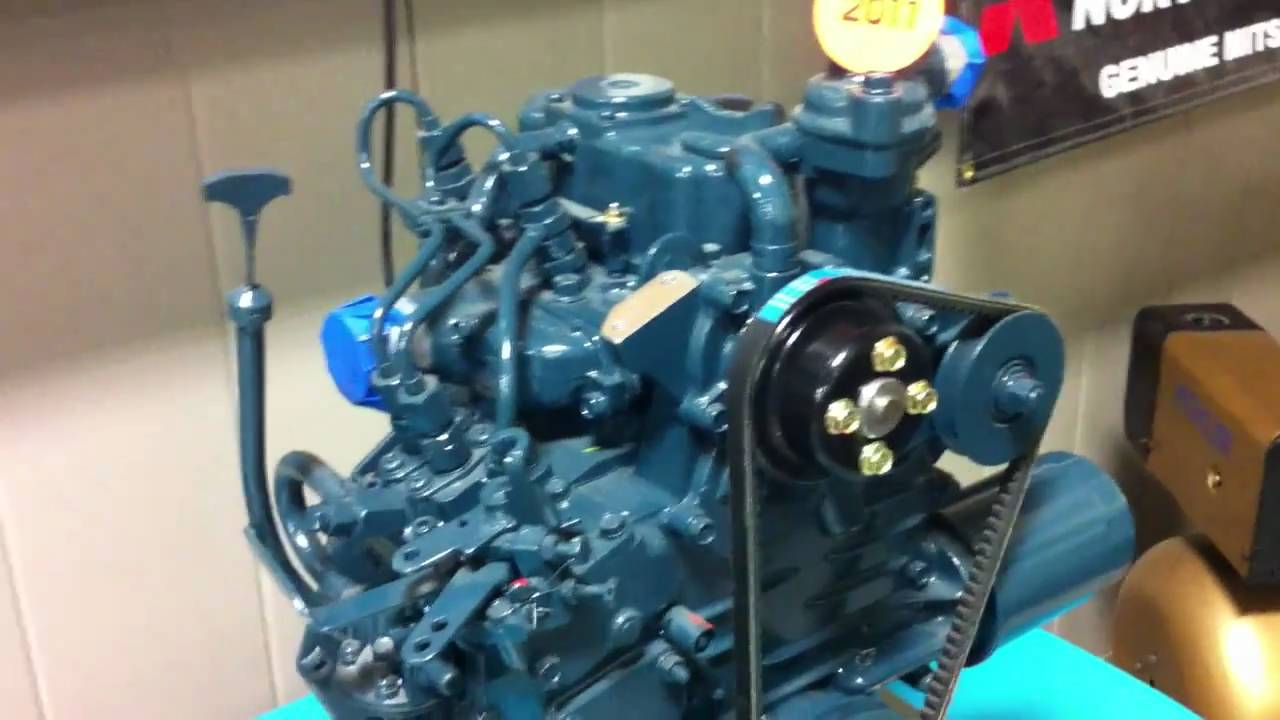 Smallest Kubota Diesel Engine Made Youtube