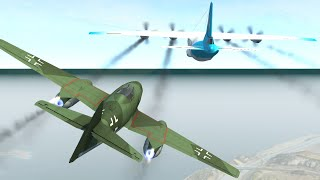 Fighter Jet Mid-Air Takedowns | BeamNG.drive