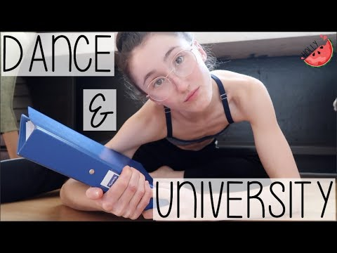 TRAINING AS A DANCER + STUDYING AT UNIVERSITY! CAN YOU DO BOTH? | THE BUSIEST LIFE OF A DANCER VLOG