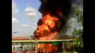 1 Incêndio em posto de combustivel em Imperatriz/MA