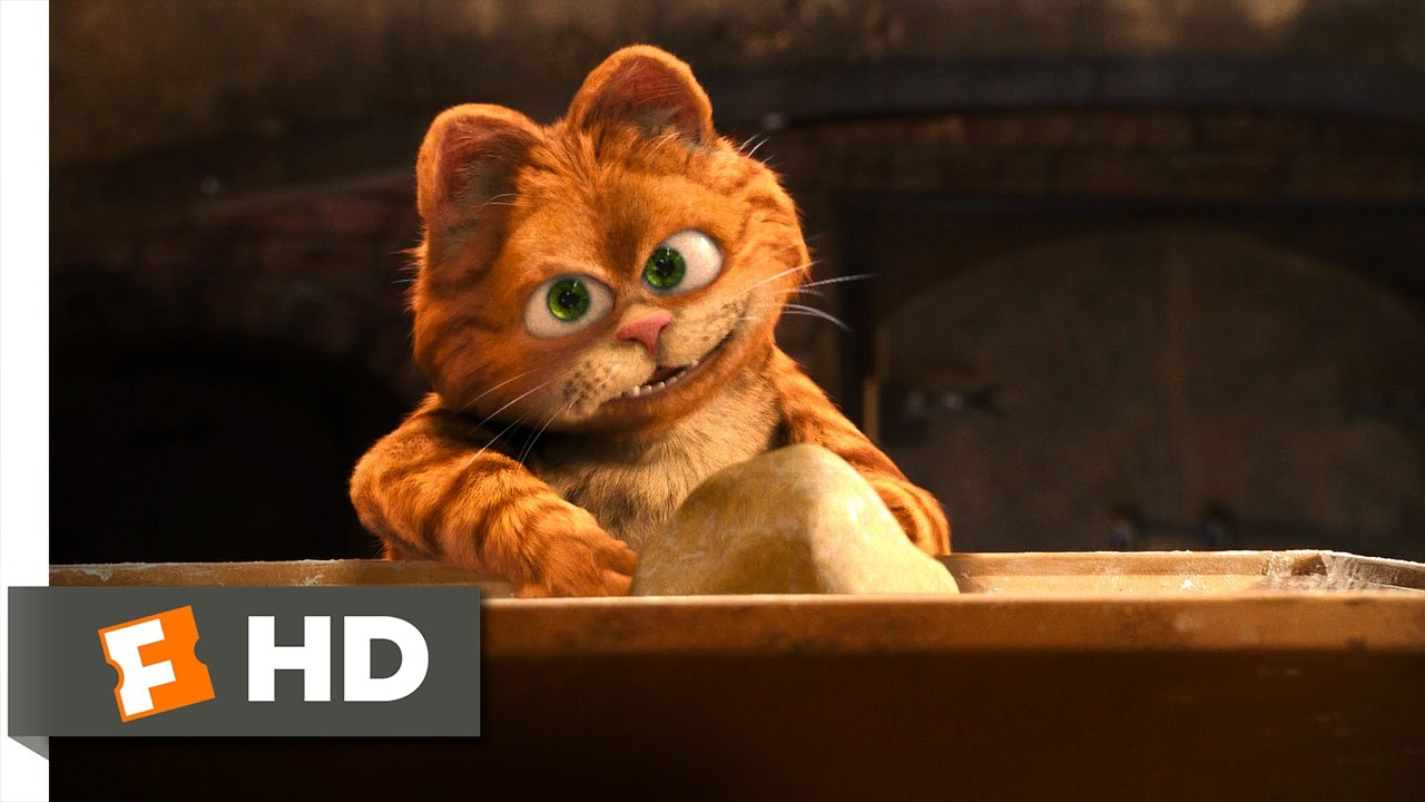 Garfield A Tail Of Two Kitties 3 5 Movie Clip The Lasagna Dance 2006 Hd Youtube