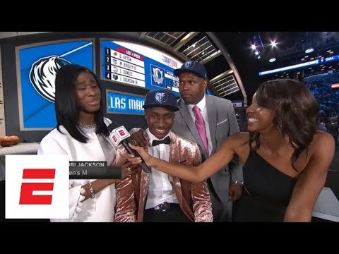 Grizzlies Take Jaren Jackson Jr. No. 4 Overall In 2018 NBA Draft [pick/analysis/interview] | ESPN