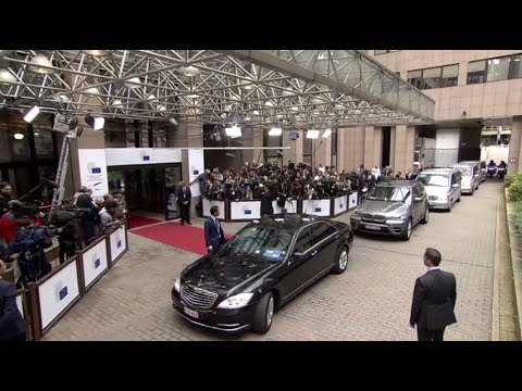 LIVE Heads of States and Government arrive for European Council special meeting
