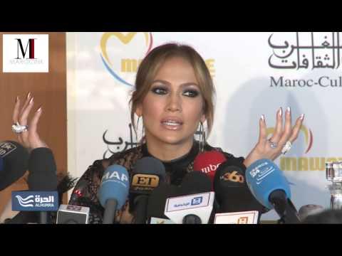 Marocink-Conférence de presse Jennifer lopez-Mawazine 2015