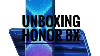 Unboxing of Honor 8X First Sale