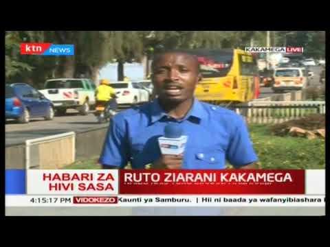 Naibu Rais Ruto azuru eneo Kakamega kwa ziara ya kuzindua miradi mbalimbali ya maendeleo