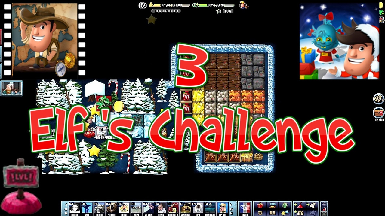 Christmas 2016~] # Elf's Challenge 3 - Diggy's Adventure - YouTube