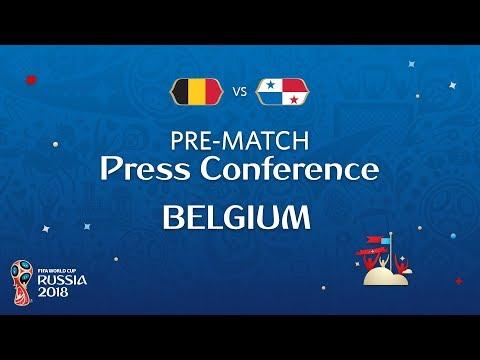 FIFA World Cup™ 2018: Belgium - Panama: Belgium Pre-Match PC