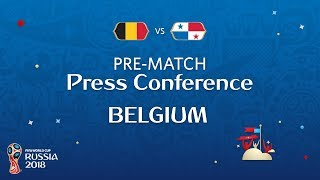 fifa world cup 2018 belgium - panama belgium pre-match pc