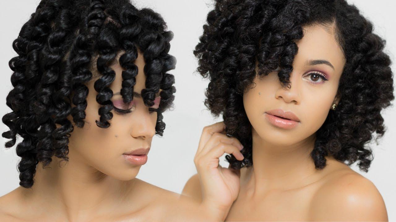 Natural Hair Flawless Flexi Rod Set Youtube