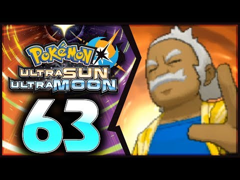 Pokemon Ultra Sun and Moon: Part 63 - Kahuna Hala Rematch! [Post-Game 100% Walkthrough]