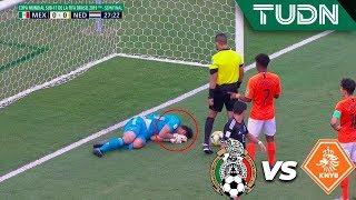 ¡Qué susto! Les anulan el gol | México 0 - 0 Holanda | Mundial Brasil Sub-17 - Semifinal | TUDN