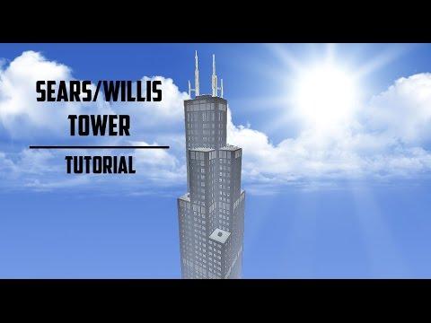 Sears/Willis Tower Minecraft Tutorial