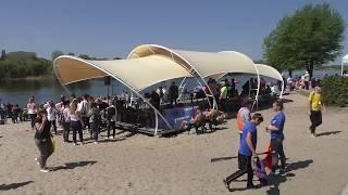 Соревнования на лодках класса Дракон в г. Комсомольск на Днепре - 2018