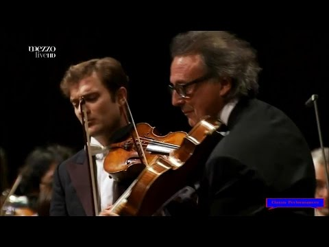 MOZART - Sinfonia concertante in E-flat major / Renaud Capucon / Gerard Causse