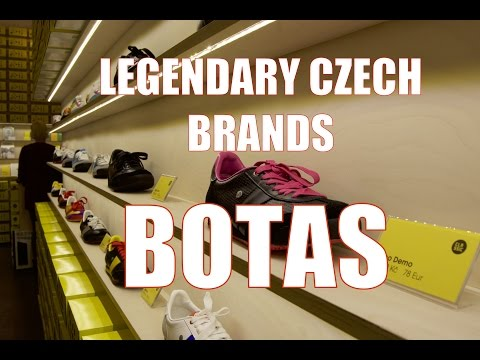 Legendary Czech Brands   BOTAS SNEAKERS