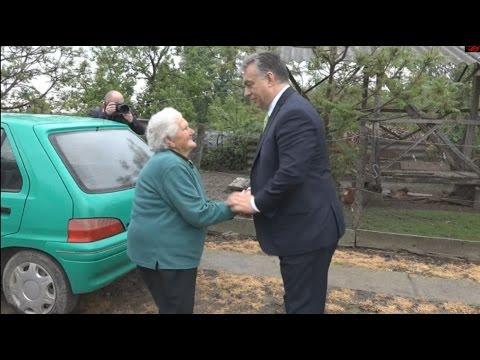 """Orbán Viktor-Nemzeti Konzultáció Bözsi nénivel //National Consultation with """"Bözsi néni"""".2017.05.06"""