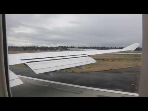 Frankfurt - Seattle   Landing at Seattle Tacoma International Airport   Boeing 747-400   LH490