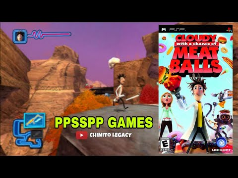Cloudy with a chance of meatballs PPSSPP GAMES | WITH DOWNLOAD LINK