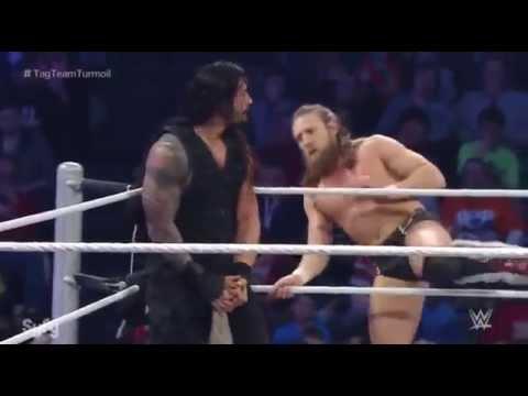 WWE Roman Reigns and Daniel Bryan Tag Team Turmoil