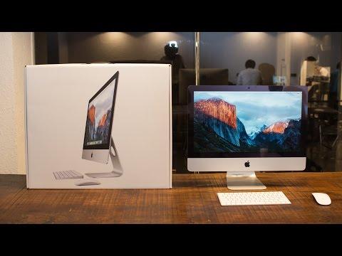 Đập hộp và trên tay Apple iMac 21.5\