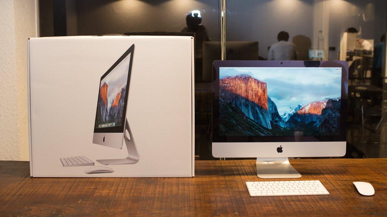 """Đập hộp và trên tay Apple iMac 21.5"""" Retina 4K"""