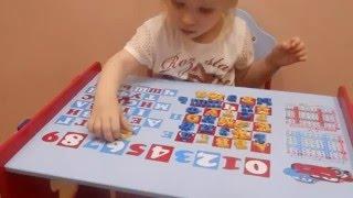 Мы учим алфавит видео урок - обучающие игры для детей