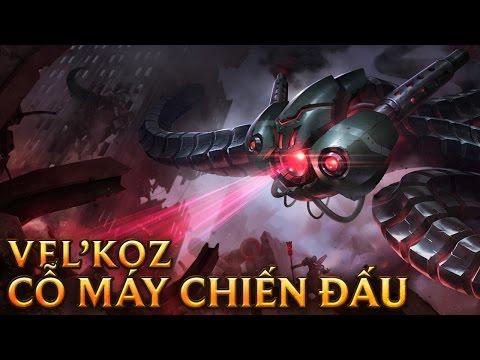 Vel'Koz Cỗ máy Chiến Đấu - Battlecast Vel'koz - Skins lol