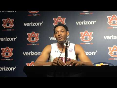 Austin Wiley recaps his Auburn basketball debut after dramatic win