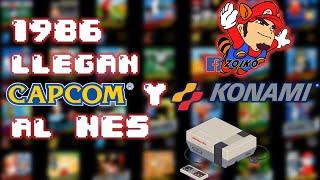 1986: Capcom y Konami Llegan al NES!!! by Zoiko