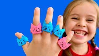 Как сделать Кольцо из Бумаги - ДЕТИ В ВОСТОРГЕ