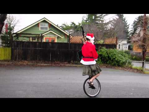 Merry Christmas from The Unipiper! - Christmas Time in Portland