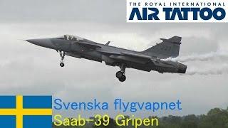 JAS-39 Gripen Swedish Air Force at RIAT 2014 / Svenska flygvapnet vid RIAT 2014