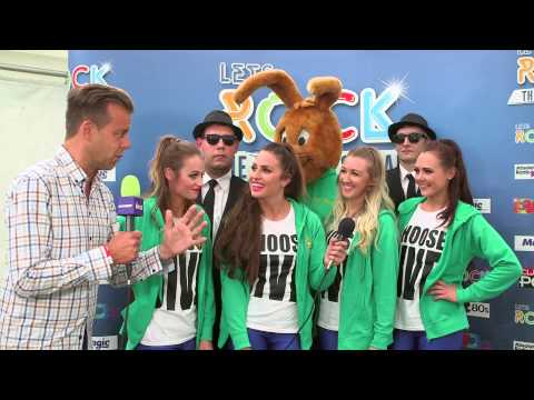 Jive Bunny & The Mastermixers backstage at Let's Rock Leeds! 2015