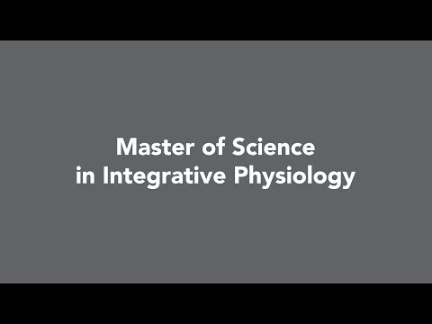 Master of Science in Integrative Physiology | Benedictine | Chicago