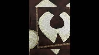 Мастер класс «Воротник -оплечье»