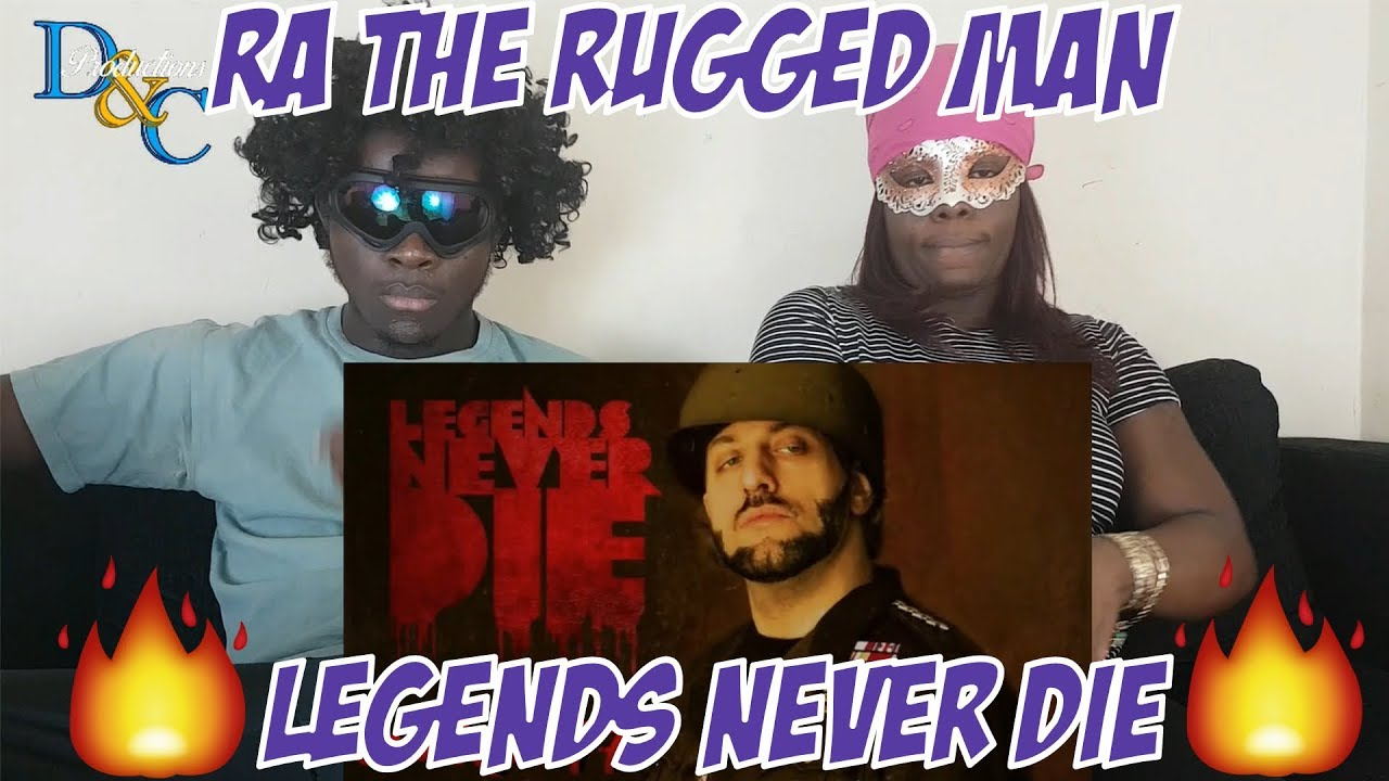 R A The Rugged Man Legends Never Daddy S Halo