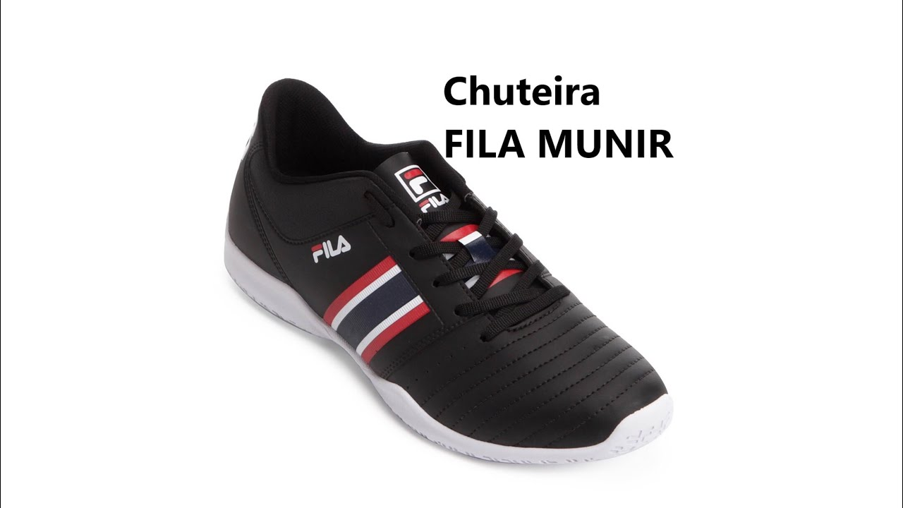 Chuteira FILA munir - YouTube 6263a571b3aeb