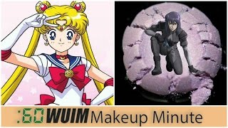 Makeup Minute | GEEK OUT with these ANIME Makeup Releases! Sailor Moon & Ghost in the Shell!