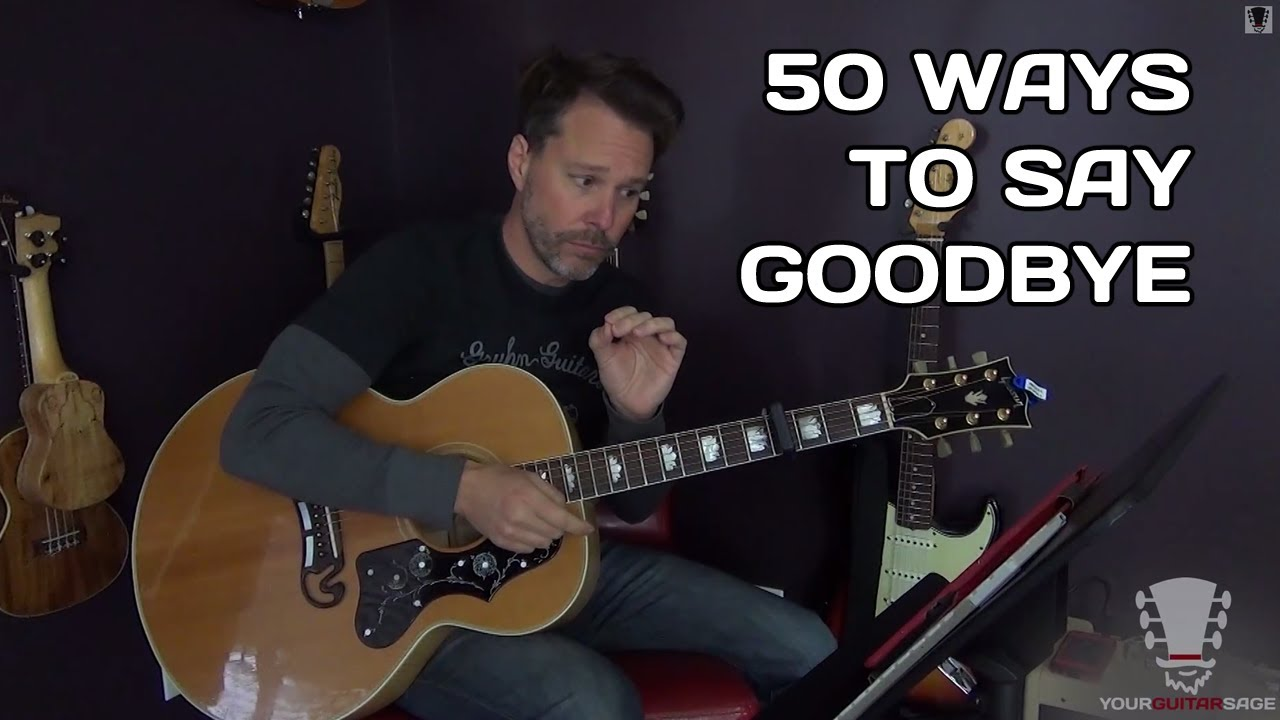 15 Ways To Say Goodbye by Train   Guitar Lesson   How to Play