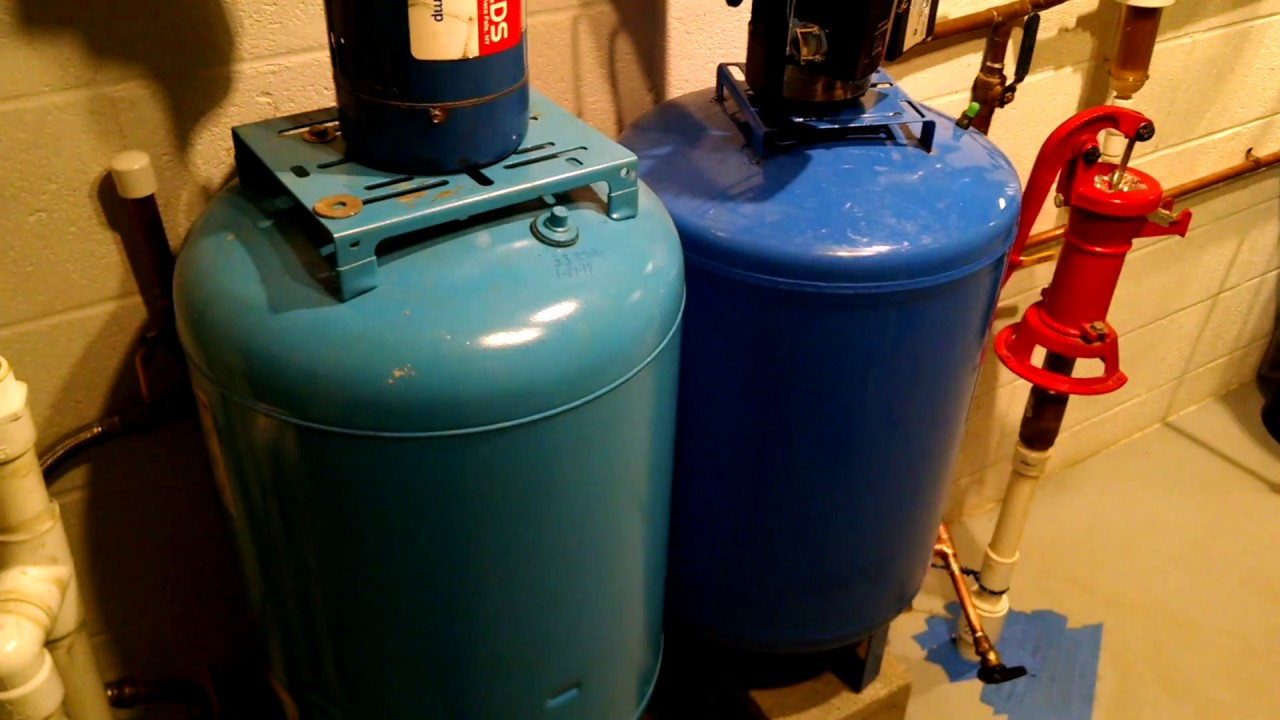 The Benefit of Installing Multiple Well Pressure Tanks - YouTube